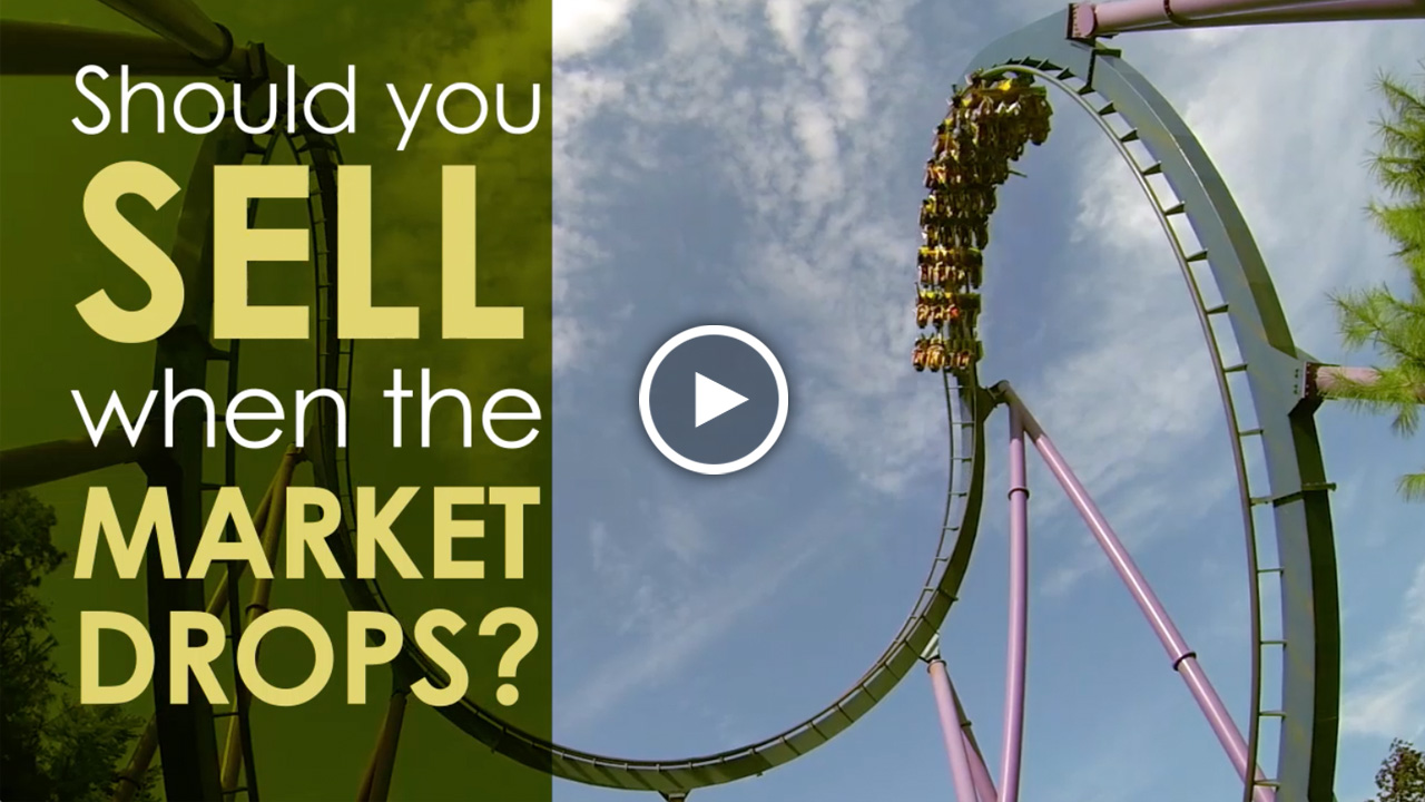 Should You Sell When the Market Drops?